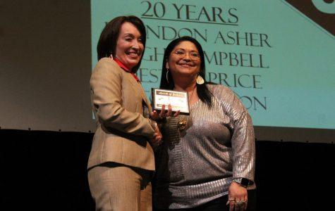 Mrs. Tina Ramirez-Tubbs awarded Spirit of Judson Award