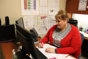 Counselor Leslie McClellan goes above and beyond her duties