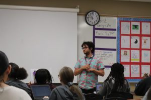 Mr. Lucas Lovelace, world geography teacher, will teach LGBTQ studies next year. This depends on the enrollment of students in the class.