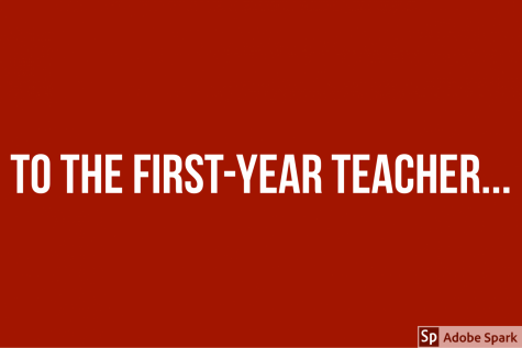 To the first-year teacher...
