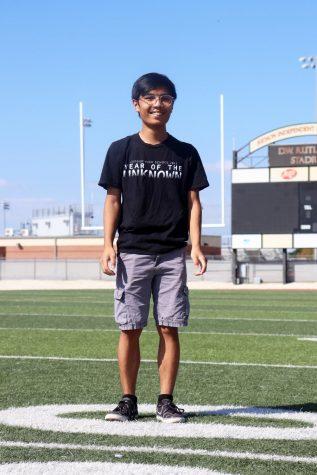 Journalism senior Richard Ly will graduate this year.