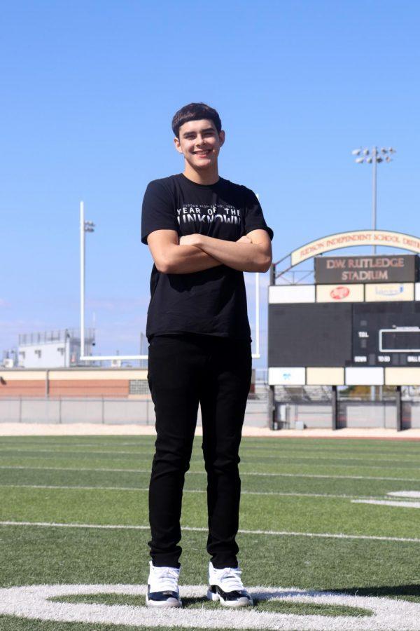 Journalism senior Thomas Rodriguez will graduate this year.