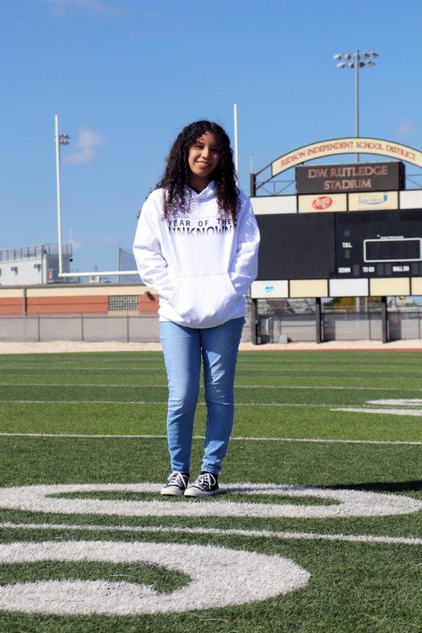 Journalism senior Jennifer Castillo will graduate this year.