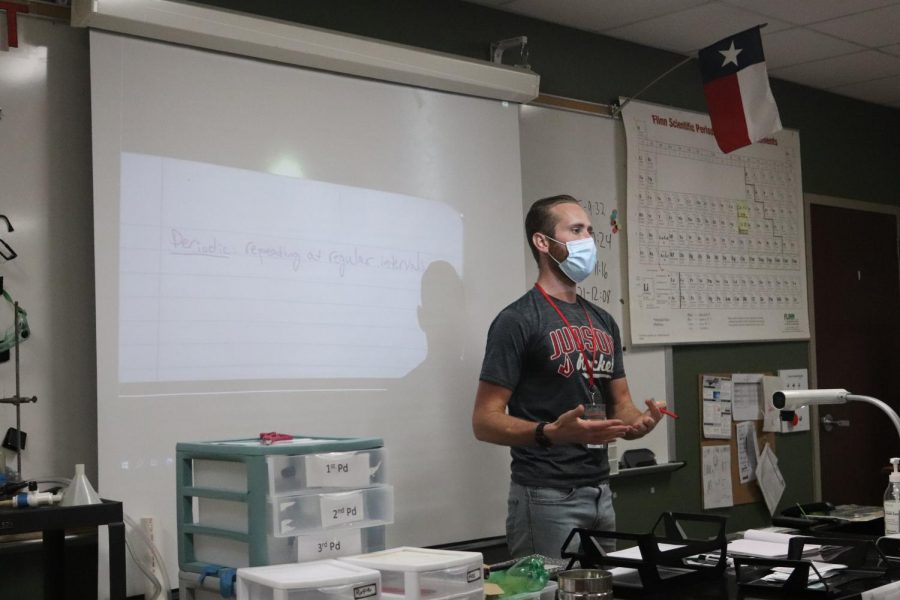 Mr.+Schmidt+is+a+chemistry+teacher+on+campus.+This+is+his+third+year+at+Judson+High+school+and+fifth+year+teaching+overall.